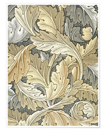 Premium poster  Acanthus - William Morris