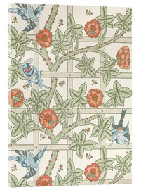 Acrylic print  trellis - William Morris
