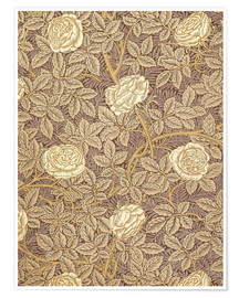 Premium poster  Roses - William Morris