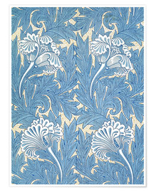 Premium poster  Tulips - William Morris