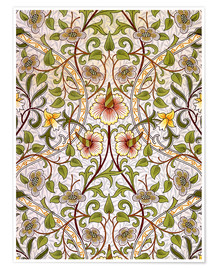 Premium poster  Narcissus - William Morris