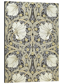 Aluminium print  Pimpernell - William Morris