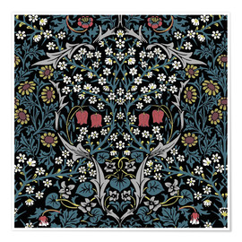 Premium poster  Blackthorn - William Morris