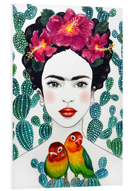 Foam board print  Frida's lovebirds - Mandy Reinmuth