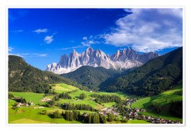 Premium poster Summer in south Tyrol