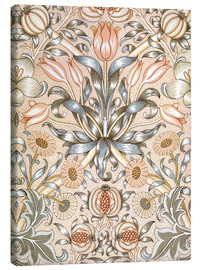 Canvas print  Lily and Pomegranate - William Morris