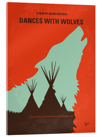 Acrylic print  Dances with Wolves - chungkong