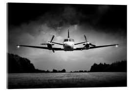 Acrylic print  Small airplane low flyby - Johan Swanepoel