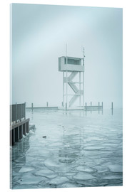 Acrylic print  The frozen Mueggelsee - Westend61