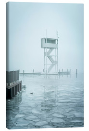 Canvas print  The frozen Mueggelsee - Westend61
