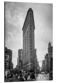 Aluminium print  Flatiron building, New York City - Axiom RF