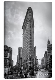 Canvas print  Flatiron building, New York City - Axiom RF