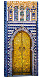 Canvas print  Decorated door of the royal palace - Brenda Tharp