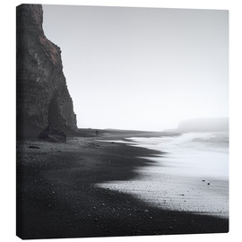 Canvas print  Black beach in Iceland - Philipp Dase