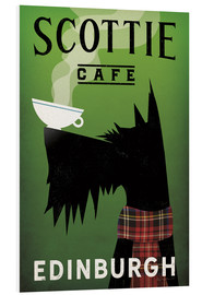 Foam board print  Scottie Cafe - Ryan Fowler