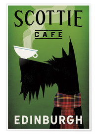 Premium poster  Scottie Cafe - Ryan Fowler
