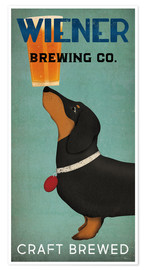 Premium poster  Wiener Brewing Co - Ryan Fowler