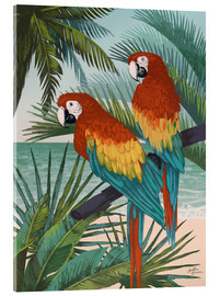 Acrylic print  Welcome to Paradise X - Janelle Penner