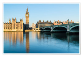 Premium poster  Big Ben, and the Palace of Westminster - Fraser Hall