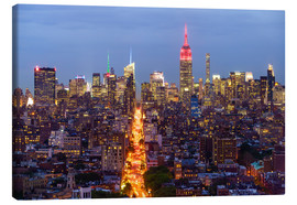 Canvas print  Empire State Building and city skyline - Fraser Hall