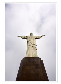 Premium poster  Iconic statue of Christ the Redeemer - Nando Machado