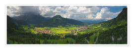 Premium poster Germany Mountains