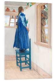 Acrylic print  Suzanne and another - Carl Larsson