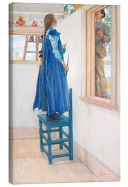 Canvas print  Suzanne and another - Carl Larsson
