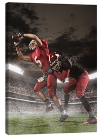 Canvas print  American Football Players in Action
