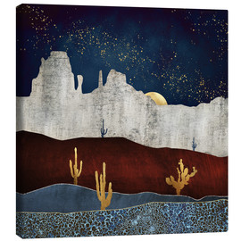 Canvas print  Moonlight desert - SpaceFrog Designs