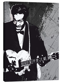 Canvas print  Chuck Berry - 2ToastDesign
