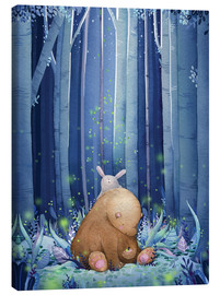 Canvas print  Fireflies - Rebecca Richards