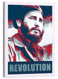 Canvas print  Fidel Castro, Revolution - Alex Saberi