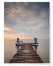Premium poster  Jetty on the Baltic Sea (1) - Heiko Mundel