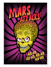 Premium poster Mars Attacks!