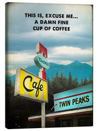 Canvas print  Twin Peaks - 2ToastDesign