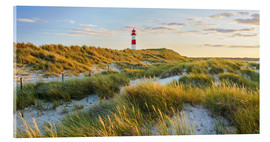 Acrylic print  Lighthouse in Sylt - Rainer Mirau