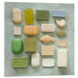 Acrylic print  Soap Collection - Andrea Haase Foto