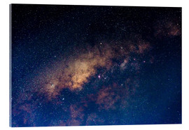 Acrylic print  The core of the Milky Way - Fabio Lamanna