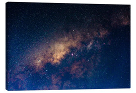 Canvas print  The core of the Milky Way - Fabio Lamanna
