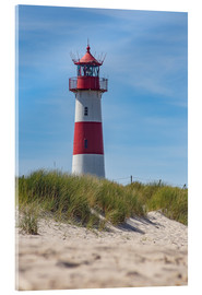 Acrylic print  Striped lighthouse - Heiko Mundel