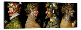 Acrylic print  The four seasons - Giuseppe Arcimboldo