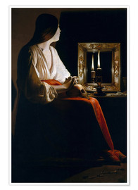 Premium poster The Penitent Magdalen